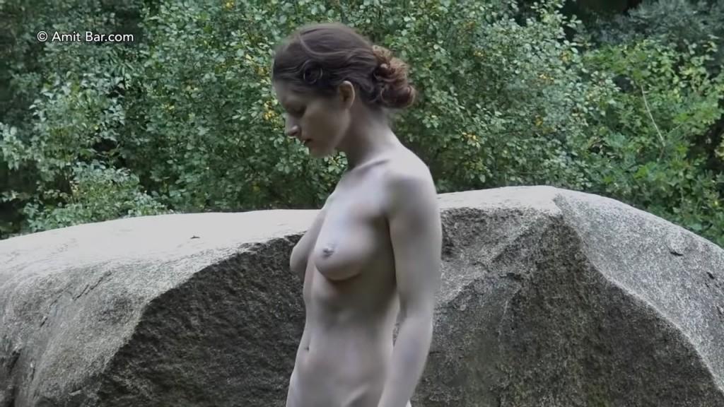 Art video: Dolmen woman by Amit Bar