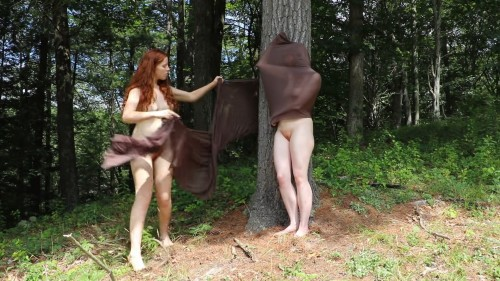 Cocoon – Performance Art by Valerie Sharp (Contains Artistic Nudity)