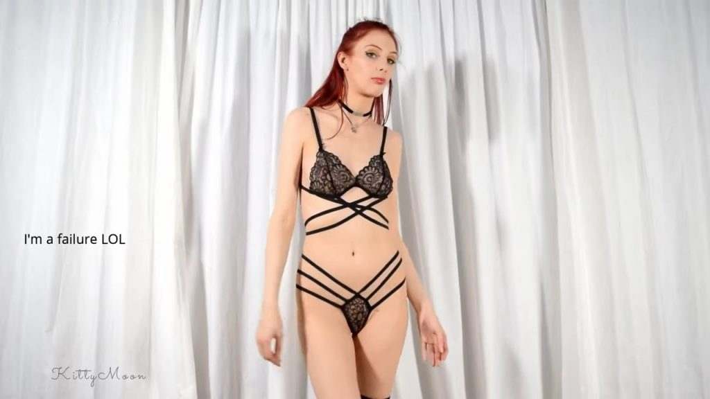 Sexy Lacey Strappy Lingerie try on