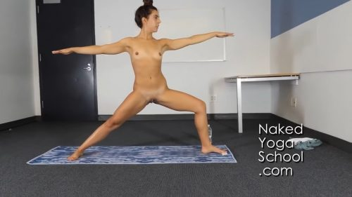 NAKED YOGA (educational) 1 hour FULL LESSON HD