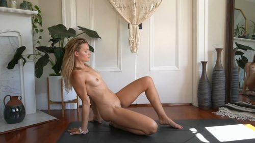 Naked Yoga Lesson + Nude Yoga for Beginners