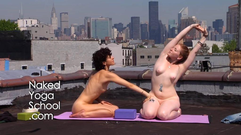 Naked Yoga School | Yoga on Roof | naked yoga for Breathing