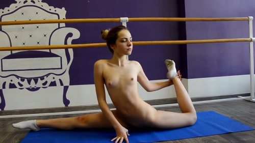 Naked yoga medidation