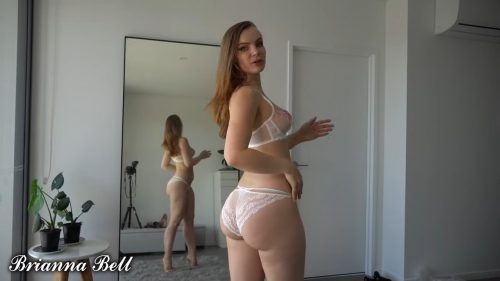 Sexy Transparent Lingerie Try On