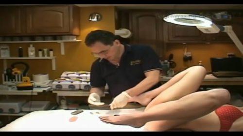 Vagina Brazilian Wax Training step by step