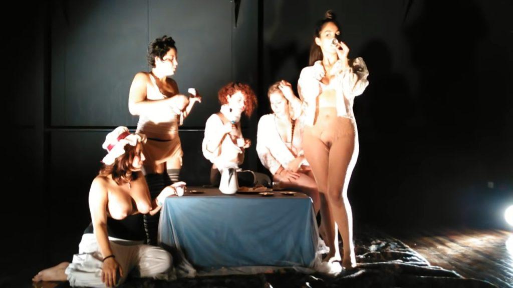 Ensayo 4to ejercicio (visual) puesta iii. Las damas