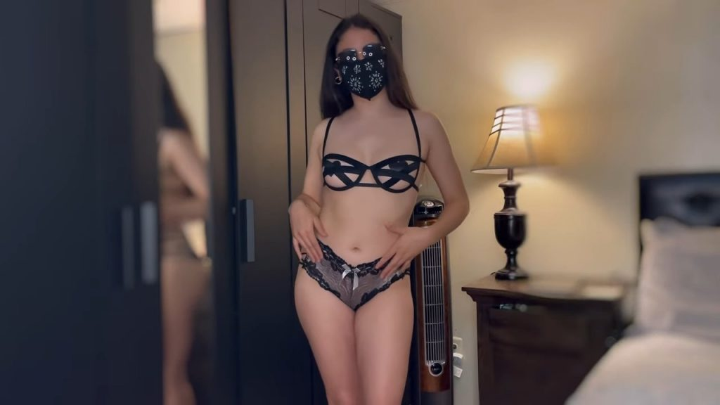 PANTIES WITH TRANSPARENT LINGERIE HAUL   *NAUGHTY*